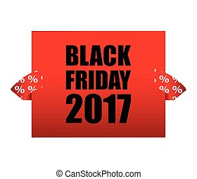 Black Friday business banner design template