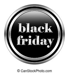 Black Friday button icon