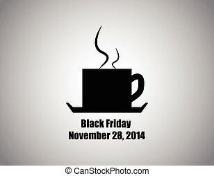 black friday cafe,vector design,eps10