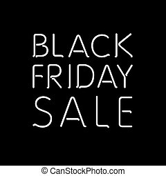 Black Friday Calligraphic Designs | Retro Style Elements |...
