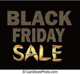 Black Friday design for advertising