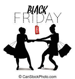 Black Friday - Black friday sale graphic design, Vector...