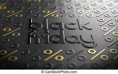 Black Friday Event Sign