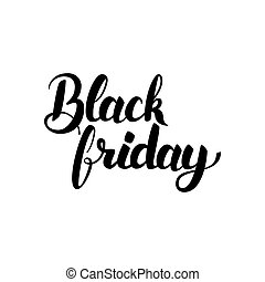 Black Friday Hand Drawn Lettering