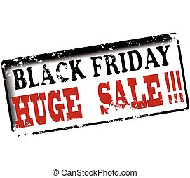 Black friday huge sale