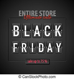 Black friday - Black Friday discounts, increasing consumer...