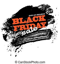 black friday sale background, vector illustration clip-art