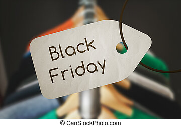 Black Friday Label Sale Graphic