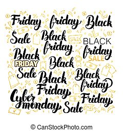Black Friday Lettering Design