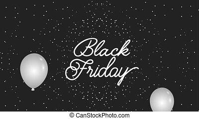 black friday lettering on dots dark background black friday...