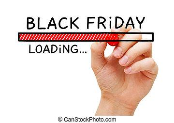 Black Friday Loading Bar Concept