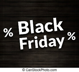 Black Friday Percentage Sale