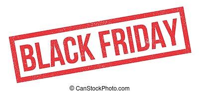 Black Friday rubber stamp