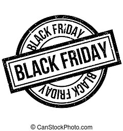 Black Friday rubber stamp