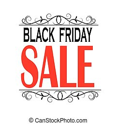 Black friday sale banner. - Black friday sale banner with...