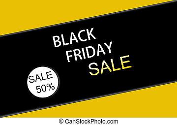 Black friday sale. Banner