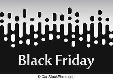 Black friday sale banner. Vector illustration eps10