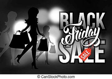 Black friday sale - Black Friday Sale advertising...