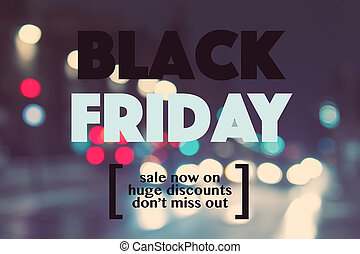 Black friday sale concept background