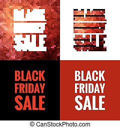 Black friday sale. EPS 10