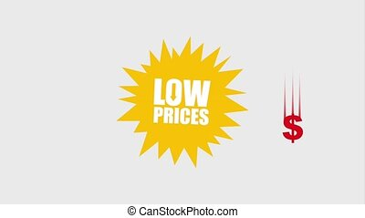 black friday sale - explosion low prices falling dollar...