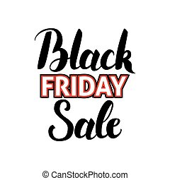 Black Friday Sale Handwritten Calligraphy