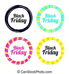 Black Friday sale icon. Special offer symbol.