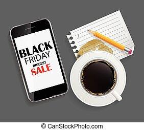 Black Friday Sale Icon Vector Illustration