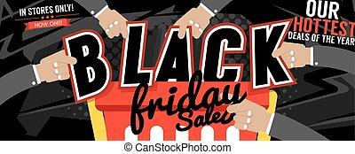 Black Friday Sale Marketing Banner