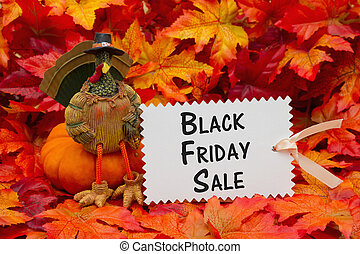 Black Friday sale message
