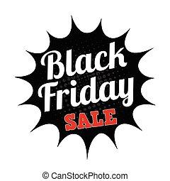Black friday sale stamp