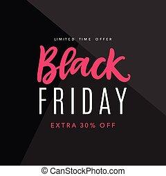 Black Friday Sale Web Banner Background