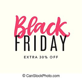 Black Friday Sale Web Banner Background