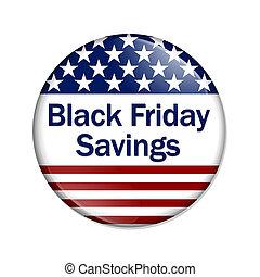 Black Friday Savings Button