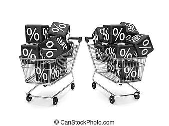 Black Friday Shopping Cart