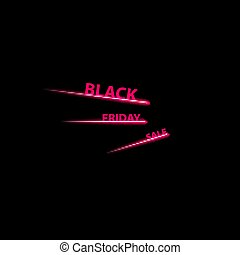 Black Friday Speed icon on the black background ,