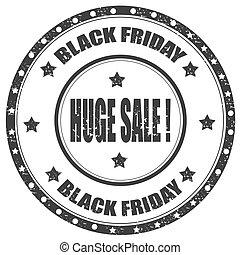 Black Friday-stamp