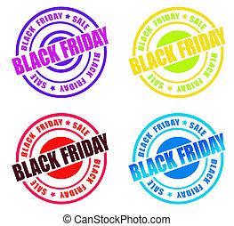Black Friday Stamp