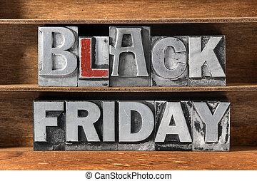 black Friday tray