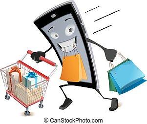 Black Friday virtual shopping