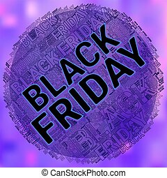 Black Friday Wordcloud. Text cloud. Typography concept. illustration.