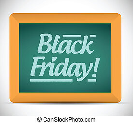 black friday written message illustration design on a...