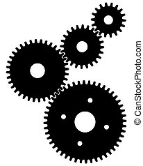 gears for teamwork symbolism
