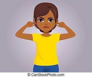 Black Girl Dont Want Hear