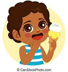 Black Girl Sweet Ice Cream