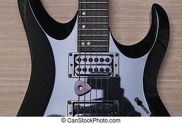 black , gitaar, achtergrond