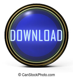 Black Gold button Download