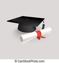 Black Graduation Cap