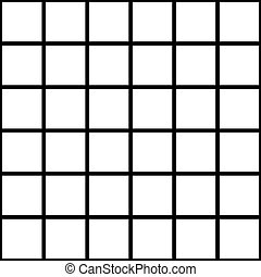 Black Grid White Chess Board Background