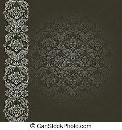 black , grijze achtergrond